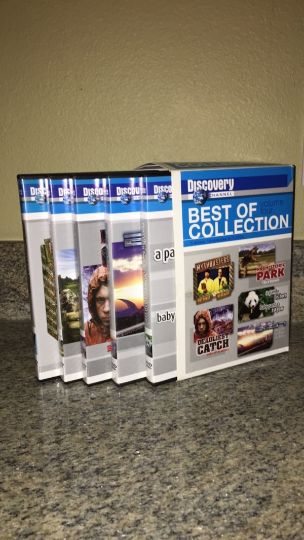 5 DVDs(Discovery Channel, Best of Collection Vol  4) used once