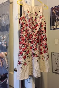 Dress from loft with red flowers moving sale everything must go Bloomfield, 07003