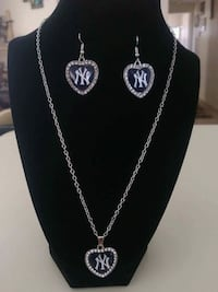New York Yankees Necklace and Earring set Tucson, 85714