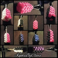 Paracord zipper pulls London, N6B 1G8