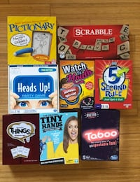8 PARTY GAMES!