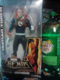 Marvel Legends Huge Human Torch figure MINT FAIRFIELD