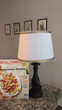 white and black table lamp Raleigh, 27605