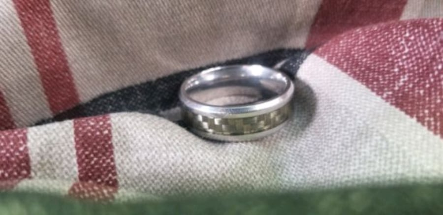 MGW Stainless Steel Wedding Band size 12 a43d8e6a-96a3-4ea7-a4ed-62b54324c5be