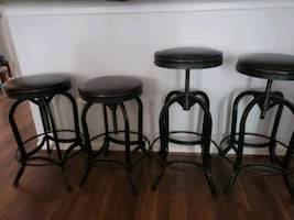 4 barstools for sale