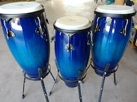 Like new set of 3 Schalloch Congas