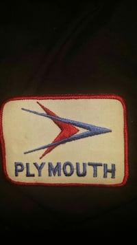Vintage Plymouth jacket patches (new) Leesburg, 20175