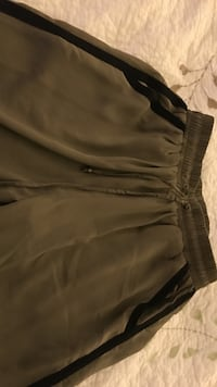 Olive green pants with black trim Germantown, 20874