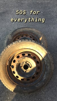 Winter tires and rims for cheap Newmarket