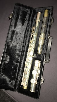 Flute with case 54 km