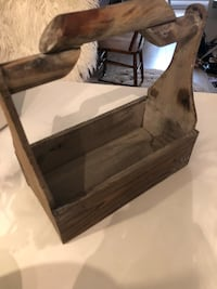rectangular brown wooden coffee table New Westminster, V3L