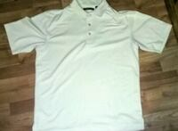 Cubavera pale yellow button-up polo shirt Muncy, 17756