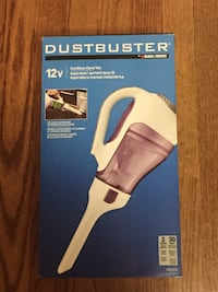 Dustbuster handheld vacuum cleaner box