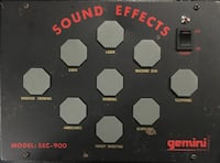 Gemini SOUND EFFECTS Synth System great for DJs Orange, 06477