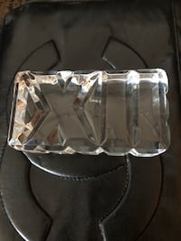 Tiffany & Co Crystal Paperweight