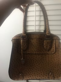 brown leather 2-way handbag Sterling, 20164