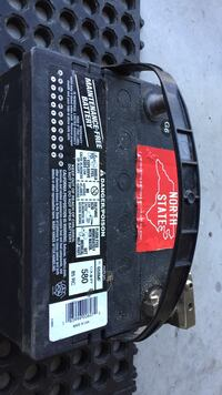 black North State car battery