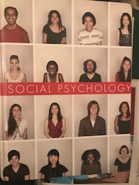 Social psychology book by sanderson and safdar  in a very good condition  3730 km