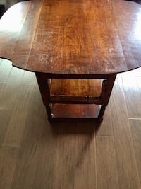 Drop-leaf antique table Mississauga, L5M 4J3