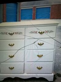 white and brown wooden dresser Corpus Christi
