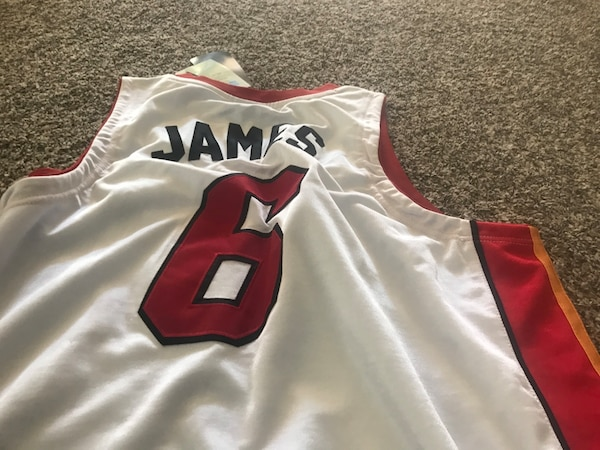 cheap for discount b298b d9872 miami heat lebron james jersey