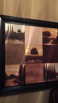 "Picture with heavy solid dark frame. Perfect condition 46x46"" Caledon, L7E 0C1"