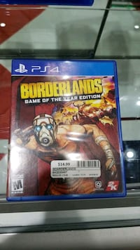 Ps4 Game Borderlands GOTY Edition