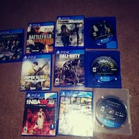 Play station 4 games Harker Heights, 76548