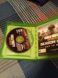 Xbox One Call of Duty disc Myersville, 21773