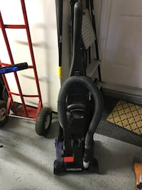 Black and gray upright vacuum cleaner Las Vegas, 89146