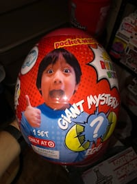 Ryan's world giant egg Manassas, 20112