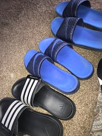 One adidas sandals and two pair Nike sandals Indianapolis, 46219