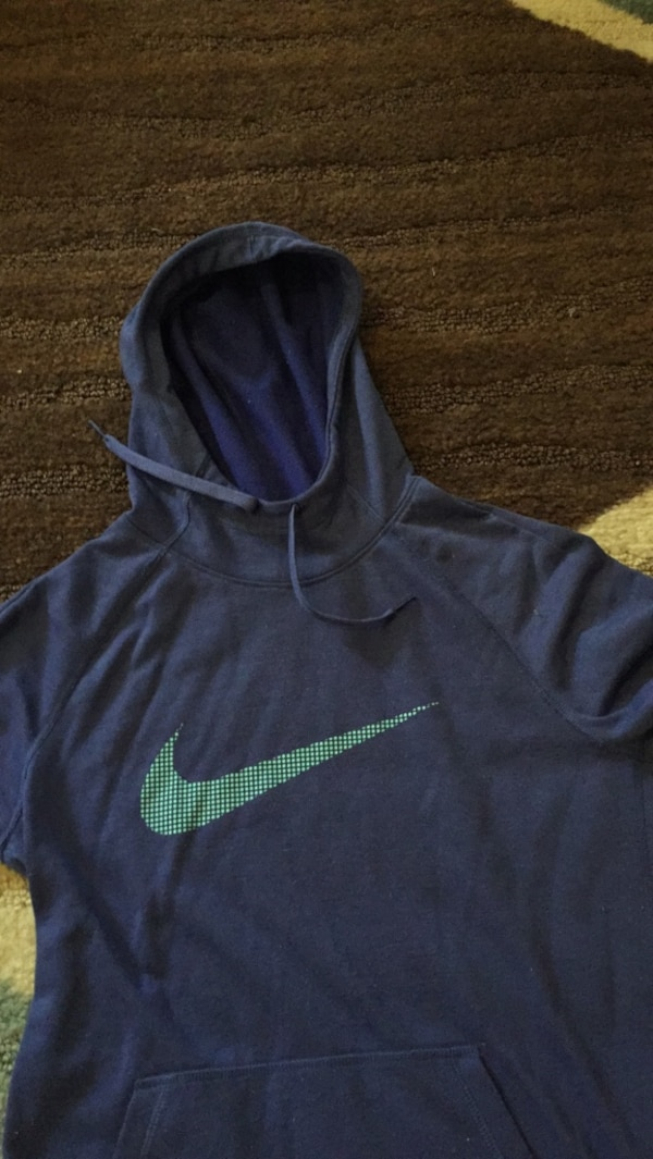 d6a3893e8 Used blue and green Nike pullover hoodie for sale in Pasadena - letgo