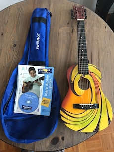 Beginners Guitar w instruction book and cd