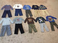 Boys 3T fall/ winter clothing lot (10 outfits) Simpsonville