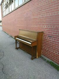 brown upright piano Toronto, M3H 2Z1