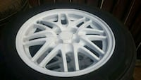 Acura Integra Ls mesh wheel with tires Los Angeles, 90003