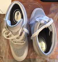 pair of white-and-black Adidas sneakers Beltsville, 20705