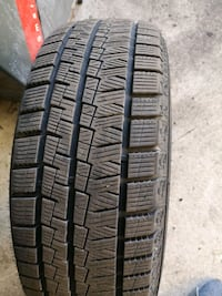 4 winter tires for sale only used one season..  Scarborough
