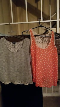 Two gray and pink scoop-neck shirts Lancaster, 93535