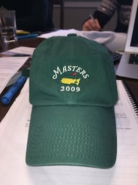 green Masters 2009 strap back hat