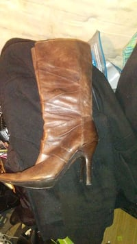 Brown boots Calgary, T2B 2C7