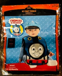 Thomas the Train Baby Halloween Costume | 12-18 months Fort Smith, 72904