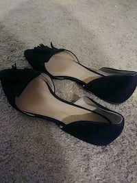 Black dress shoes size 7 Virginia Beach, 23456