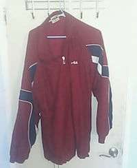 red and white Adidas zip-up jacket Los Angeles, 91405