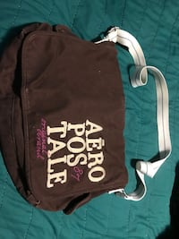 Brown Aeropostale Side Bag