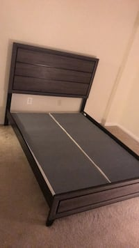 Less than a year old. Come get it tonight please $100 also negotiable if you can get is ASAP. Queen size bed frame with supports. Baltimore downtown inner harbor area  Baltimore, 21201