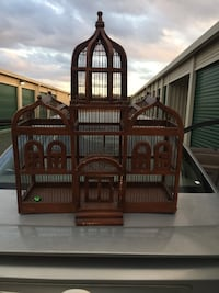 Wooden Bird Cage great condition