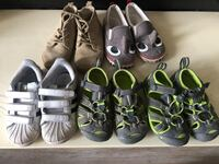 Toddler shoes lot sizes 8-9  Burnaby, V3N 2M9