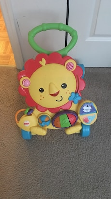 Fisher Price Lion learning walker